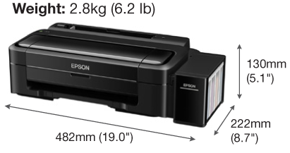 Máy in Epson L310 in phun 4 màu